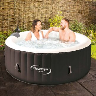 CleverSpa Onyx Inflatable Hout Tub