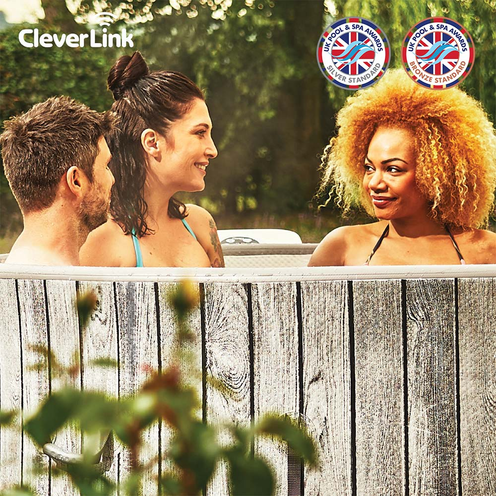 CleverSpa® Black Label Waikiki 7 Person Hot Tub With