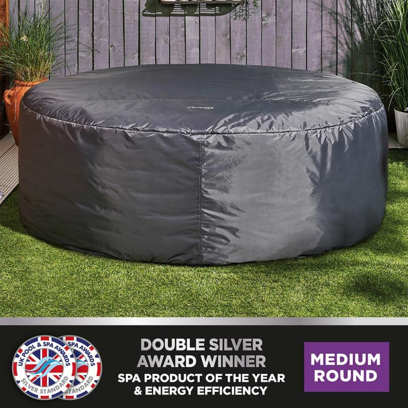 CleverSpa Round Thermal Hot Tub Cover 6P 8287