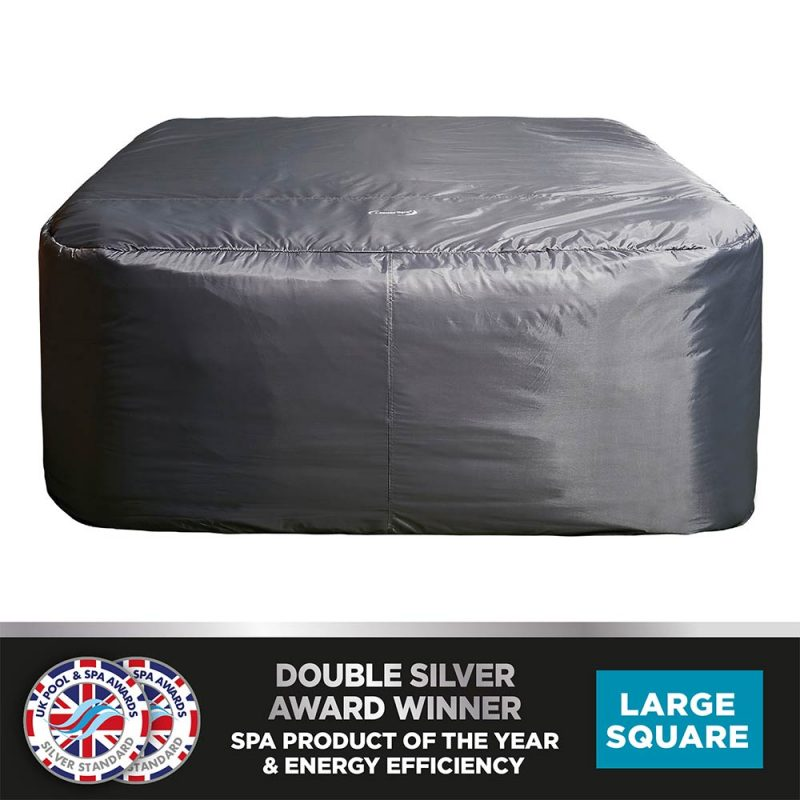 CleverSpa Square Thermal Hot Tub Cover 6 Person