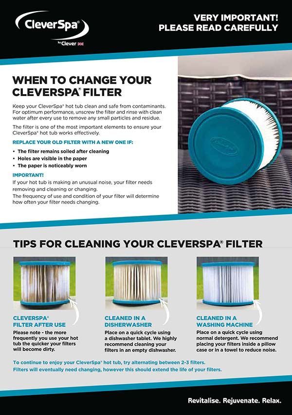 How can I clean my filter?